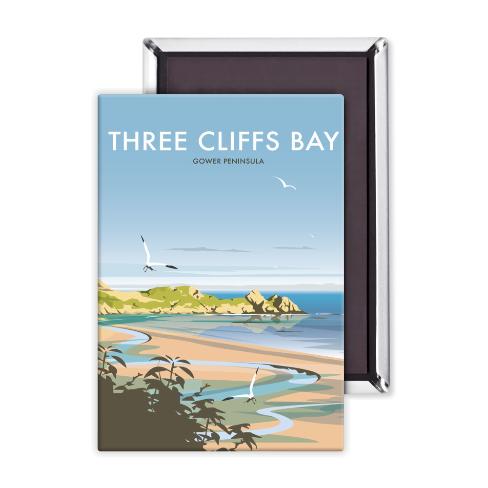 Three Cliffs Bay Magnet