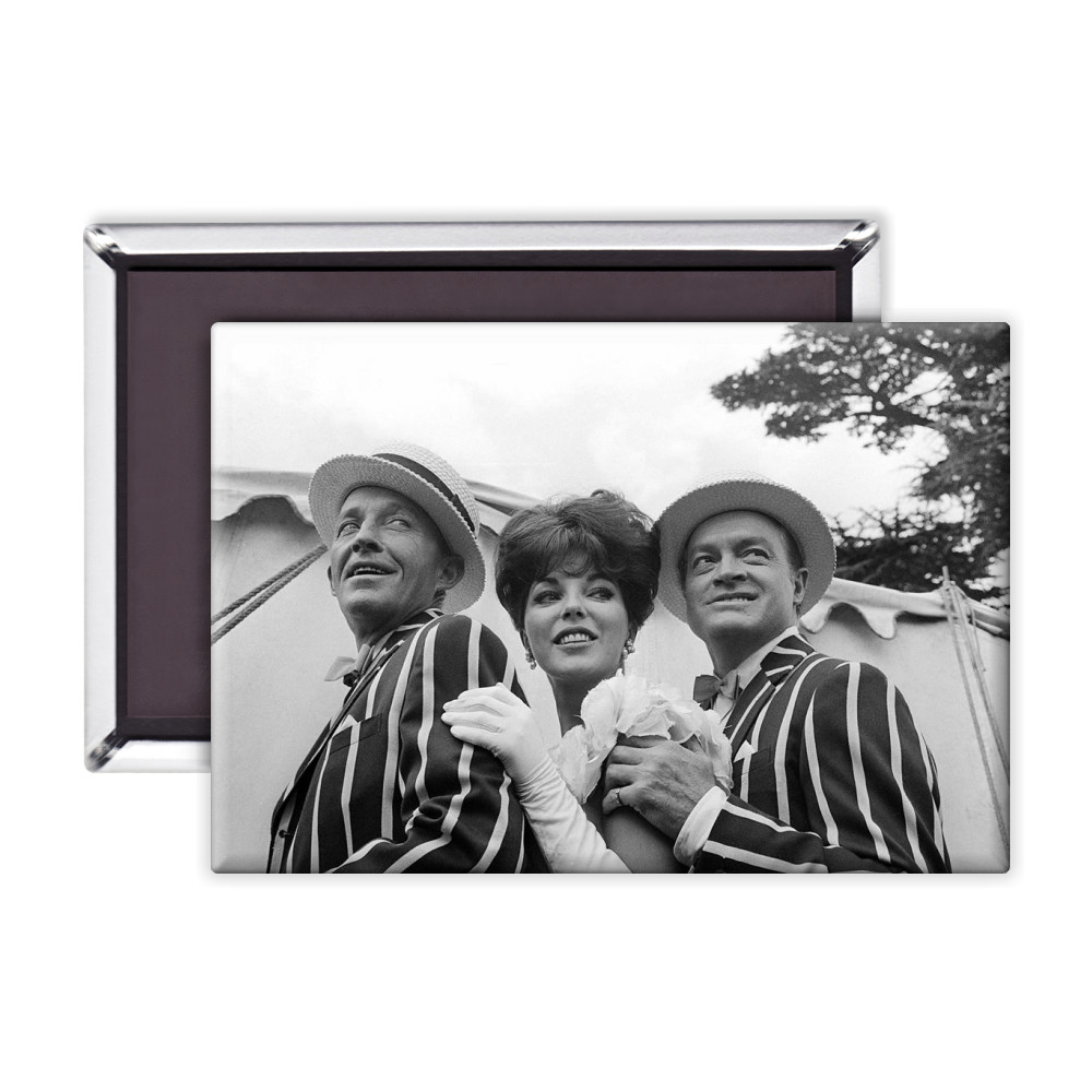 'Bing Crosby, Joan Collins and Bob Hope' Magnet