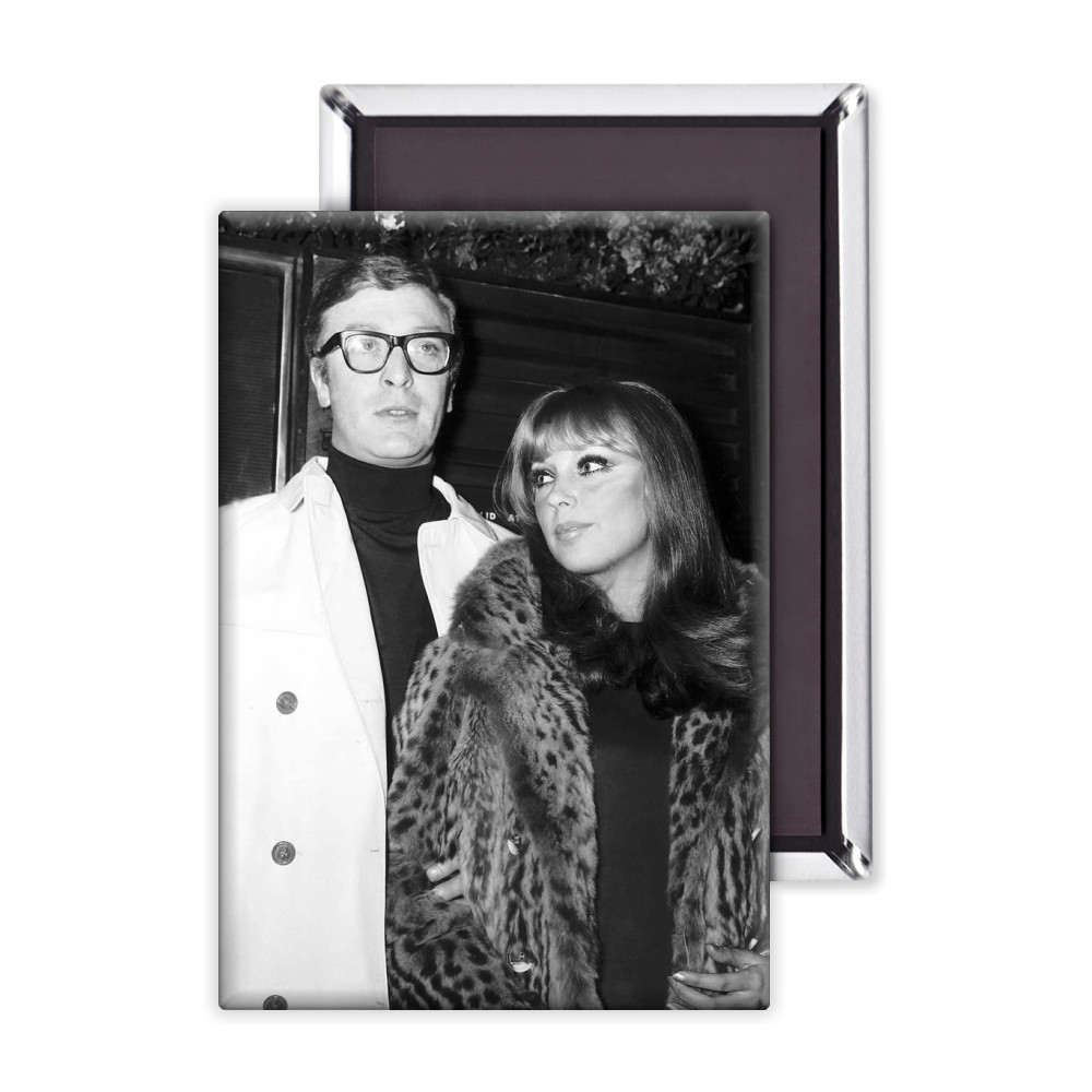 Michael Caine actor and girlfriend Elizabeth Ercy Magnet