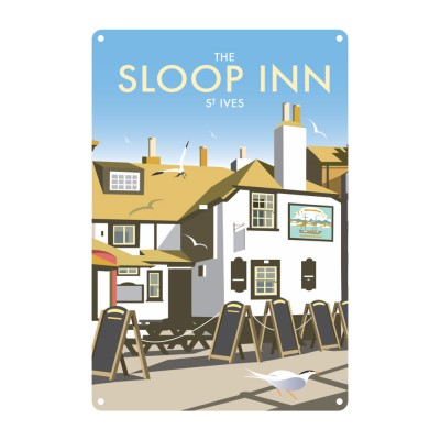 The Sloop Inn Art Print