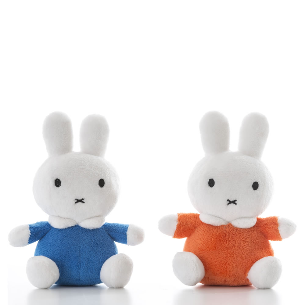 Miffy Classic Bean Toy Orange/Blue