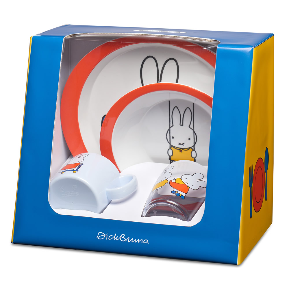 Miffy Plays - Set children 4 pcs