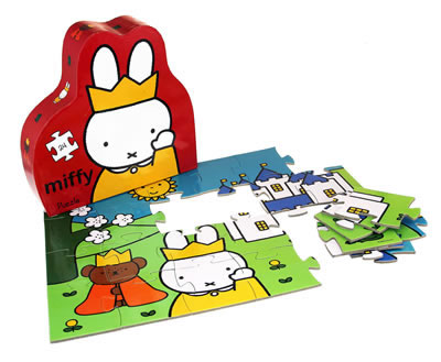 Miffy Deco Puzzle Castle