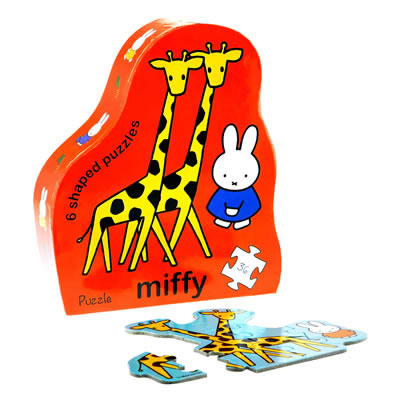 Miffy Deco Puzzle Safari Animals