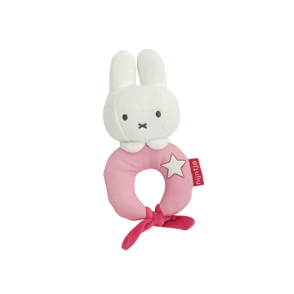 Miffy Pink Rattle