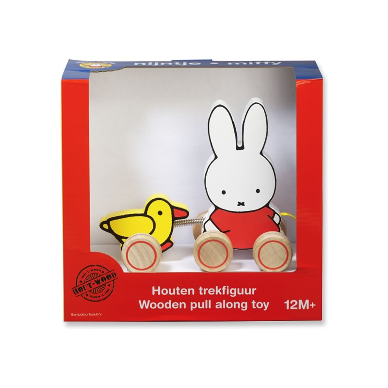 Miffy Wooden Pull-along