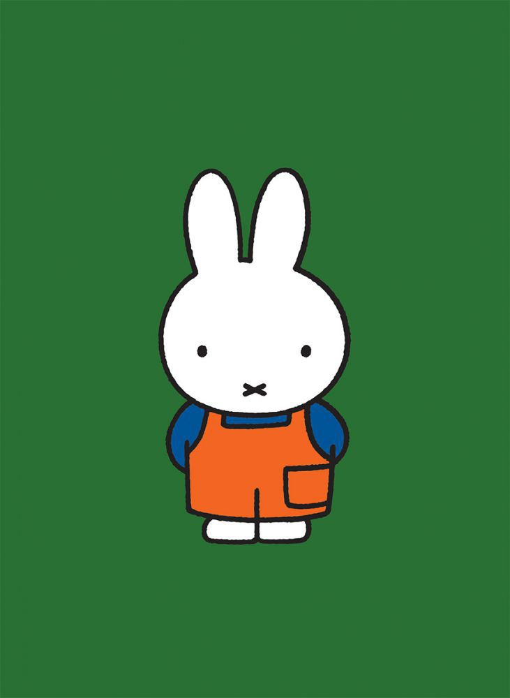 Miffy in Dungarees Mini Poster