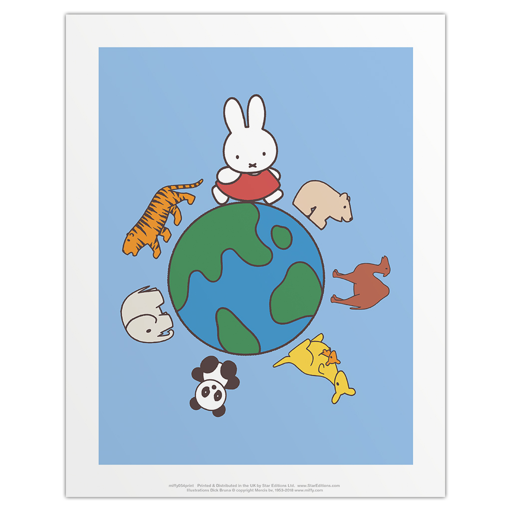 Miffy Animals Globe