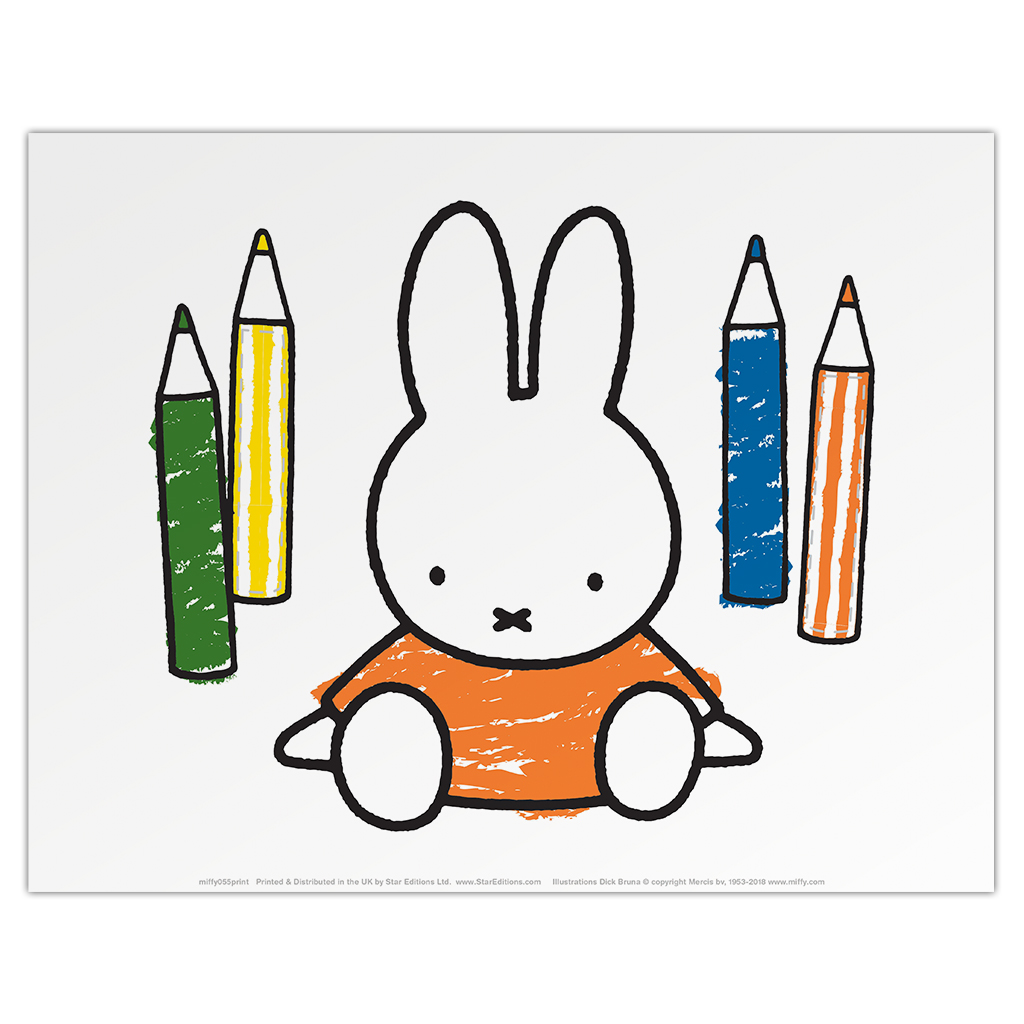 Miffy Colouring Pencils