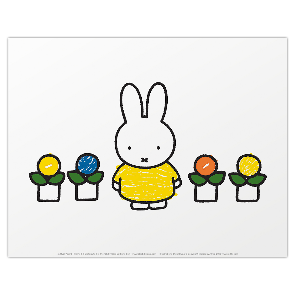 Miffy Yellow Dress