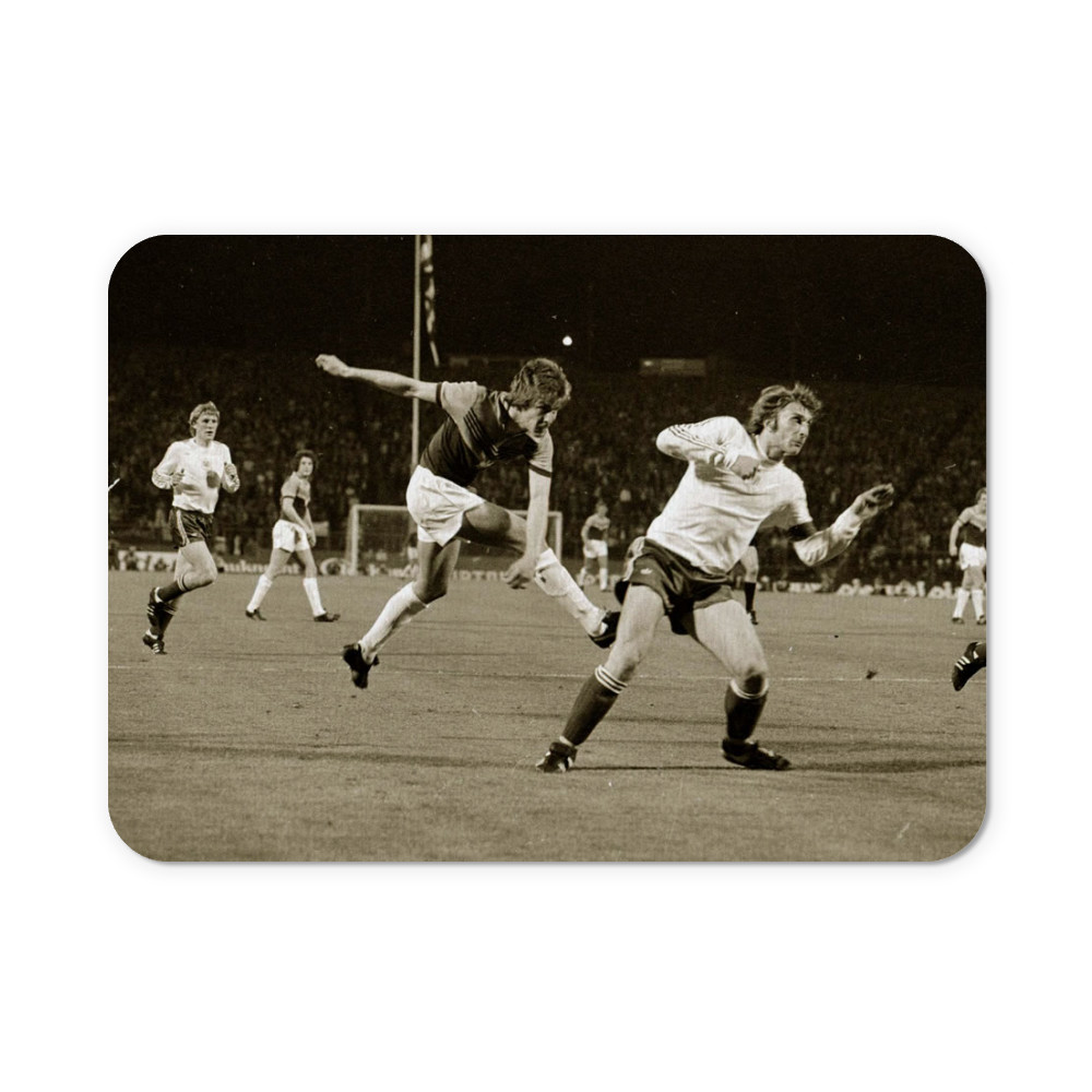 European Cup Winners Cup Final at the Heysel Stadium, May 1976. Anderlecht.. Mousemat