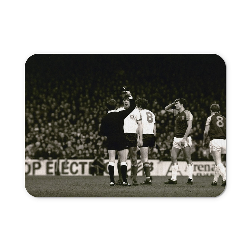 FA Cup 3rd round at Upton Park, January 1981. West Ham United v Wrexham. A.. Mousemat