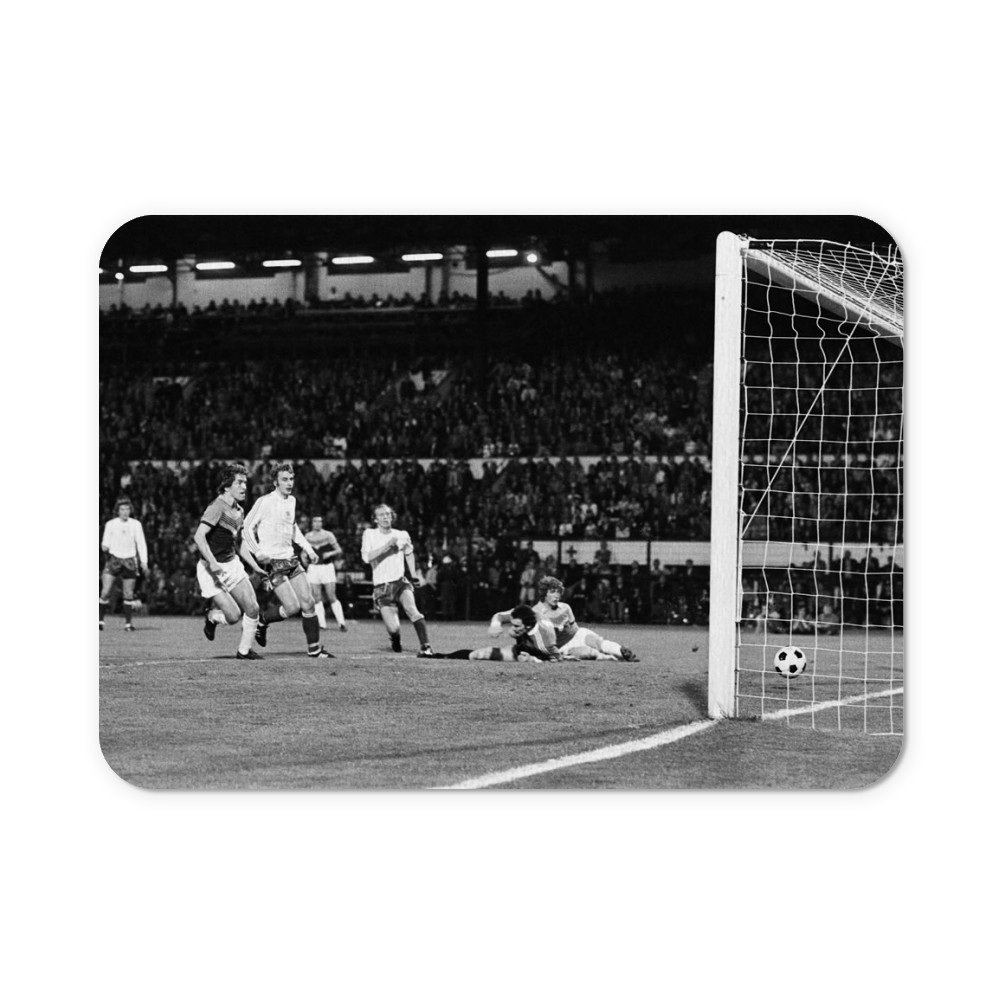 European Cup Winners Cup Final, Anderlecht 4 v West Ham 2, 6th April 1976. Mousemat