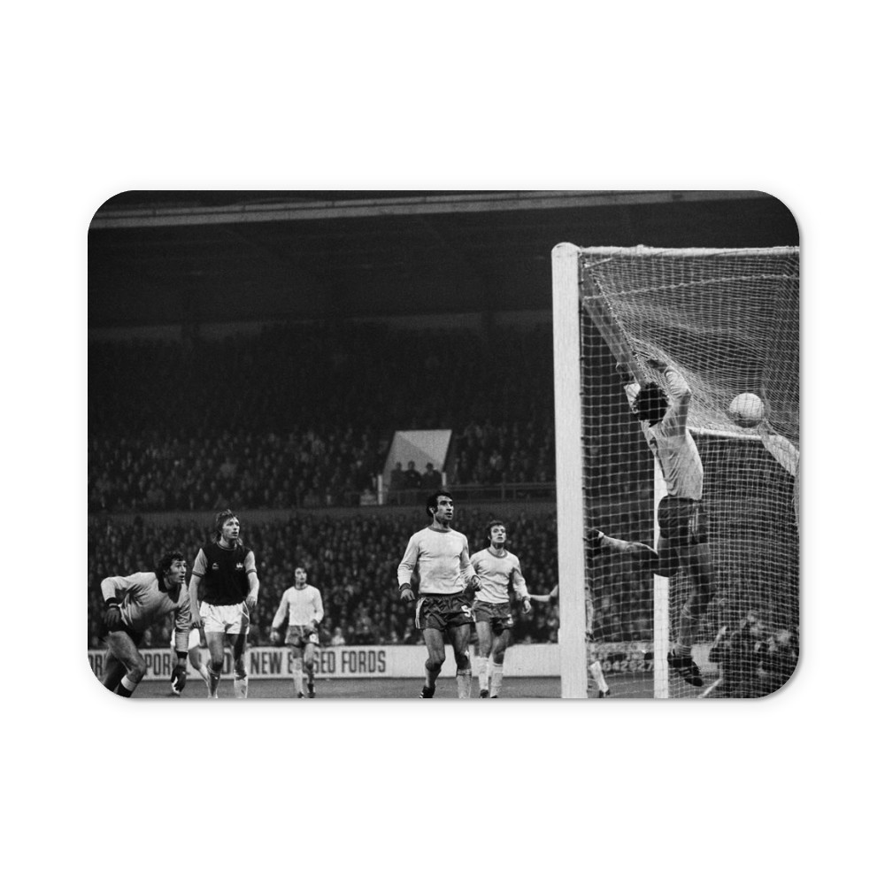 European Cup Winners Cup. West Ham v Ararat Yerevan, 5th November 1975. Mousemat