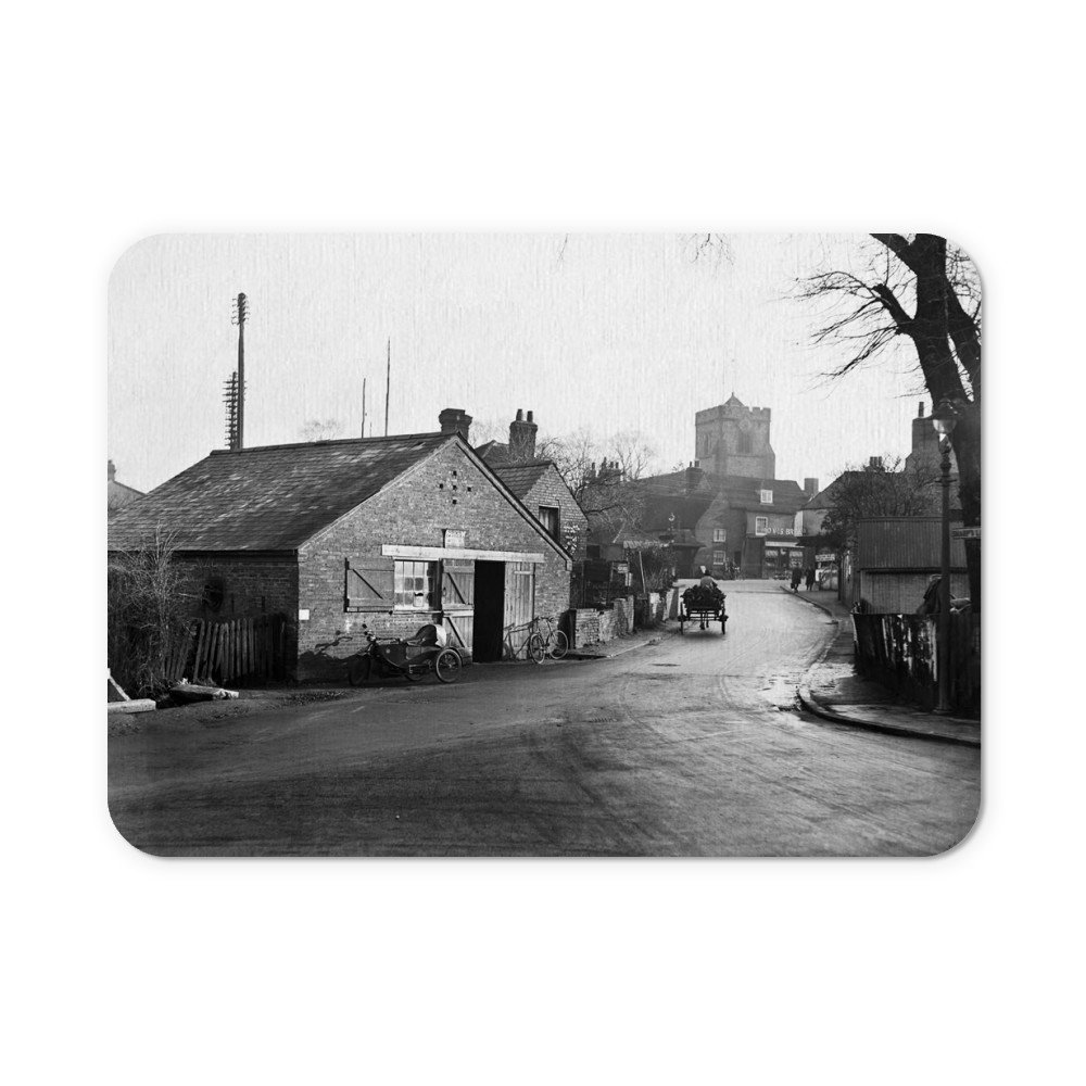 Bury Street (A4180), Ruislip, London (formerly Middlesex) : old forge to.. Mousemat