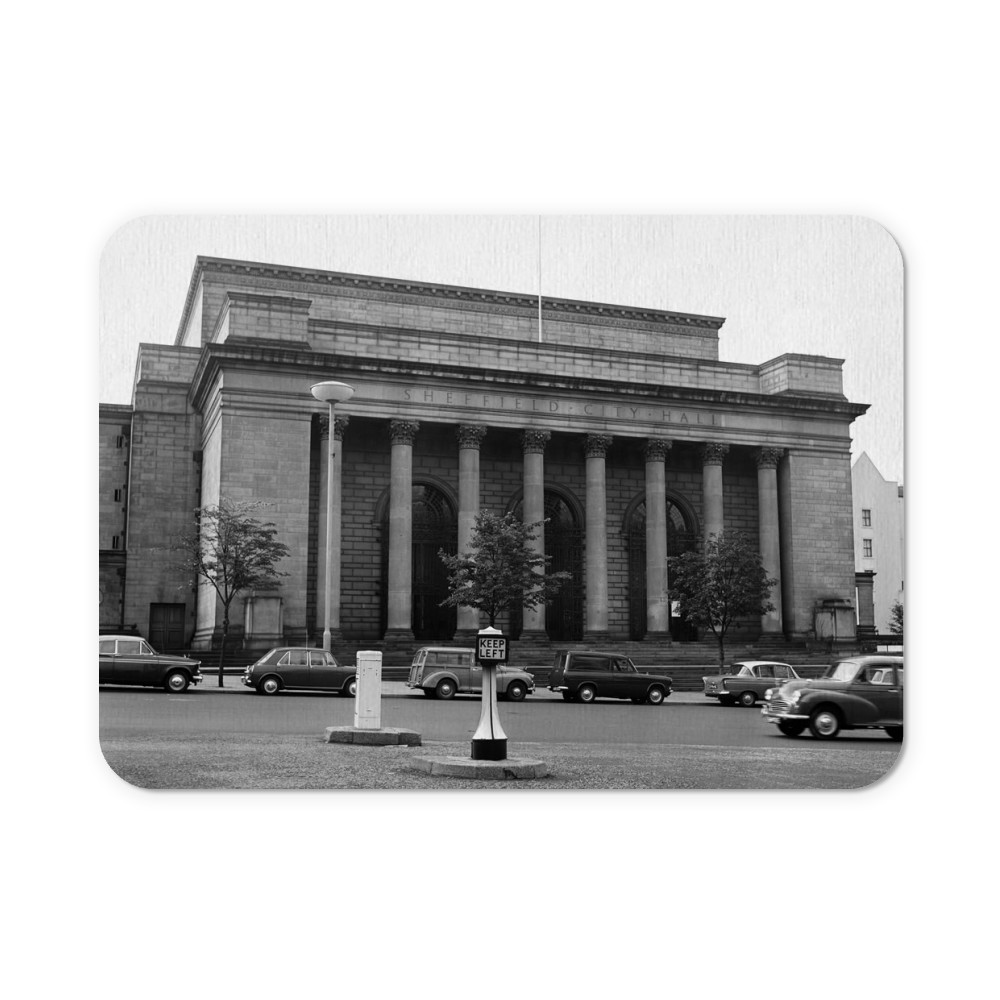 Sheffield City Hall, 1965 Mousemat