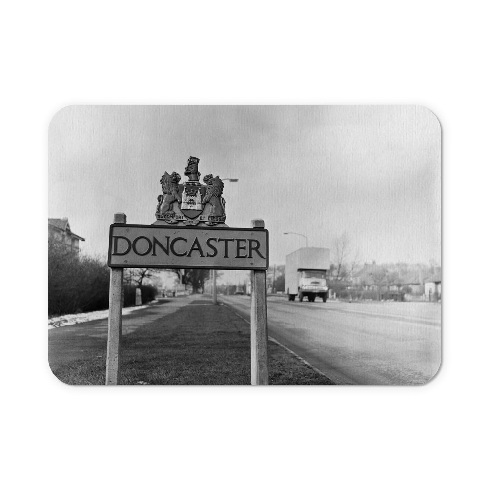 Doncaster, South Yorkshire, 1962. Mousemat
