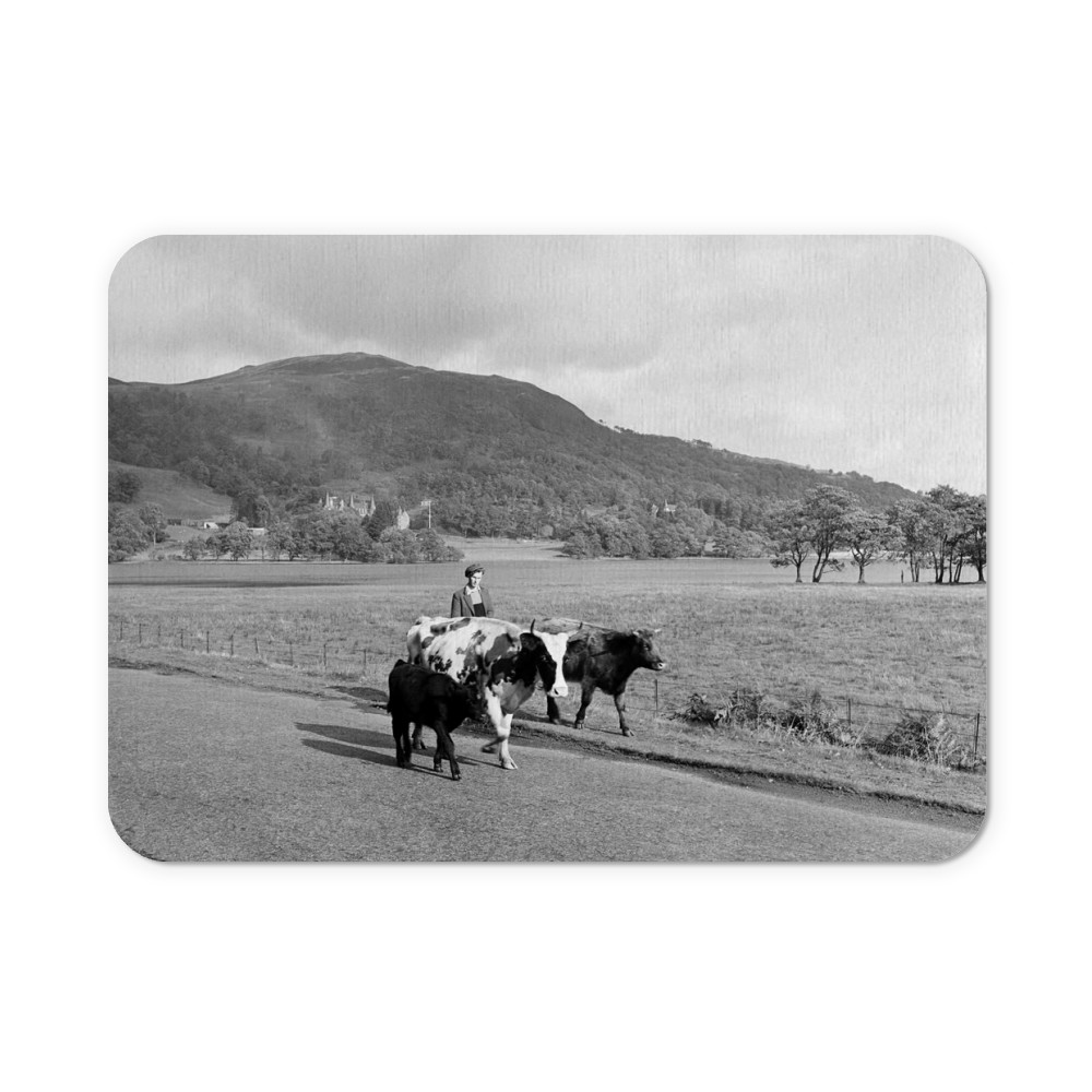 Trossachs, Scotland, 1956 Mousemat