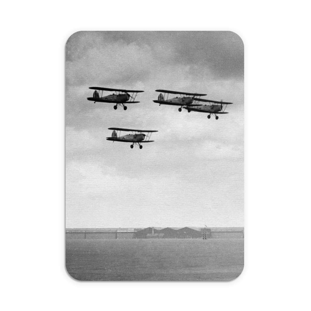 RAF Tiger Moth trainers Mouse Mat Mousemat