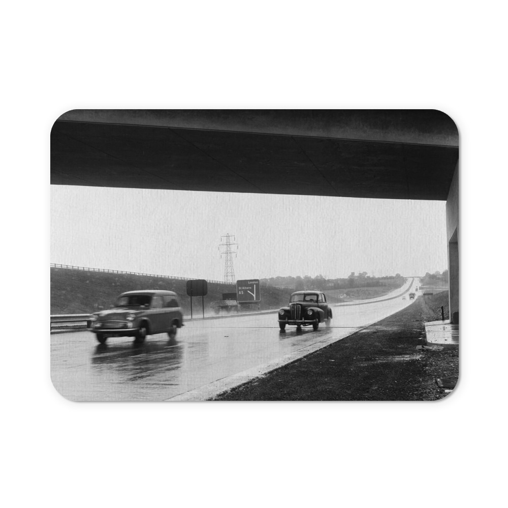 The M1 Motorway Mouse Mat Mousemat