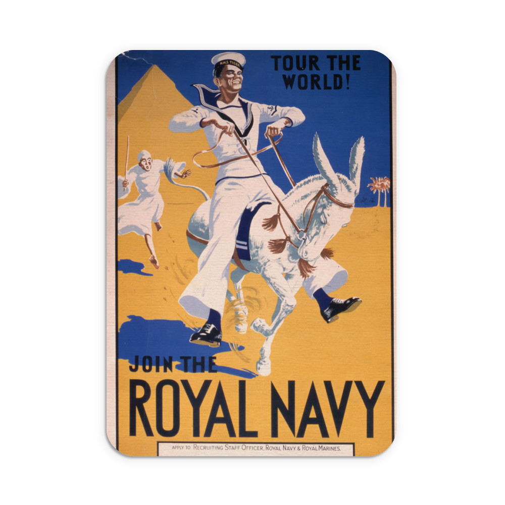 Join the Royal Navy - Tour the World Mousemat