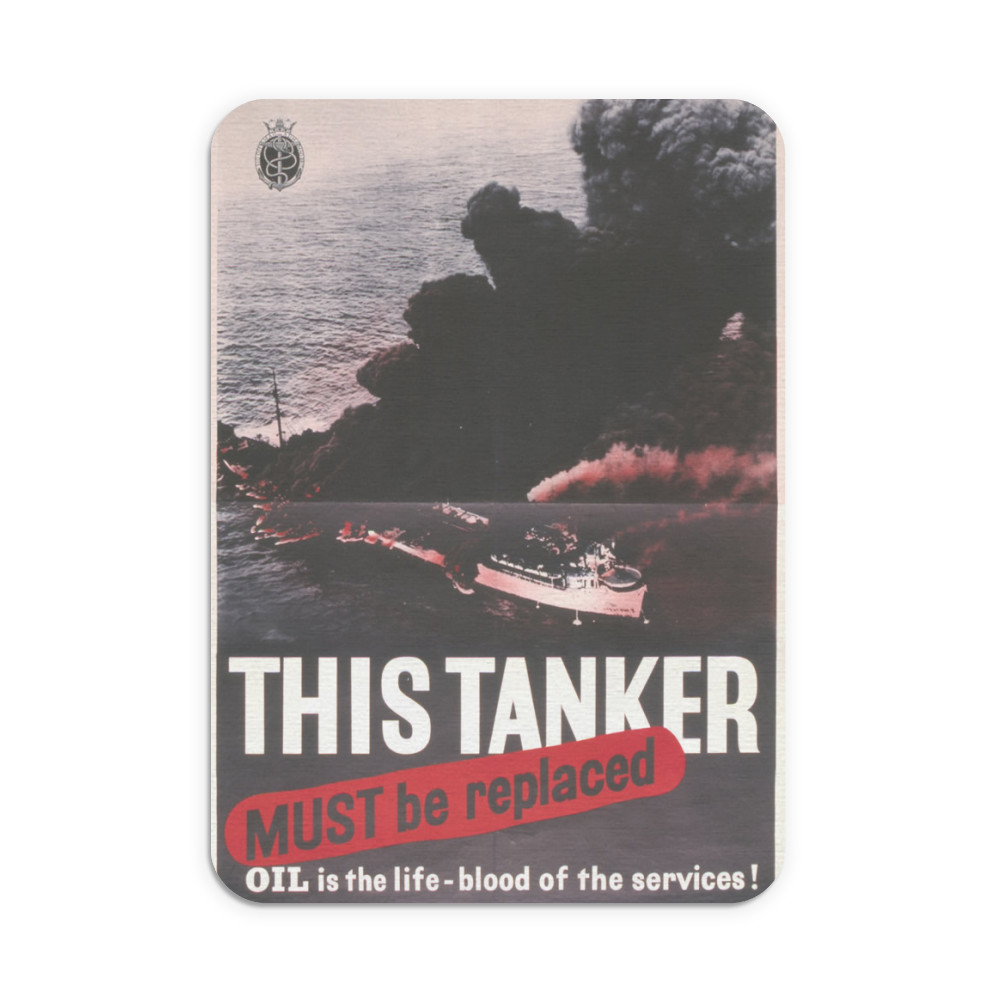 This Tanker Must be Replaced Mousemat