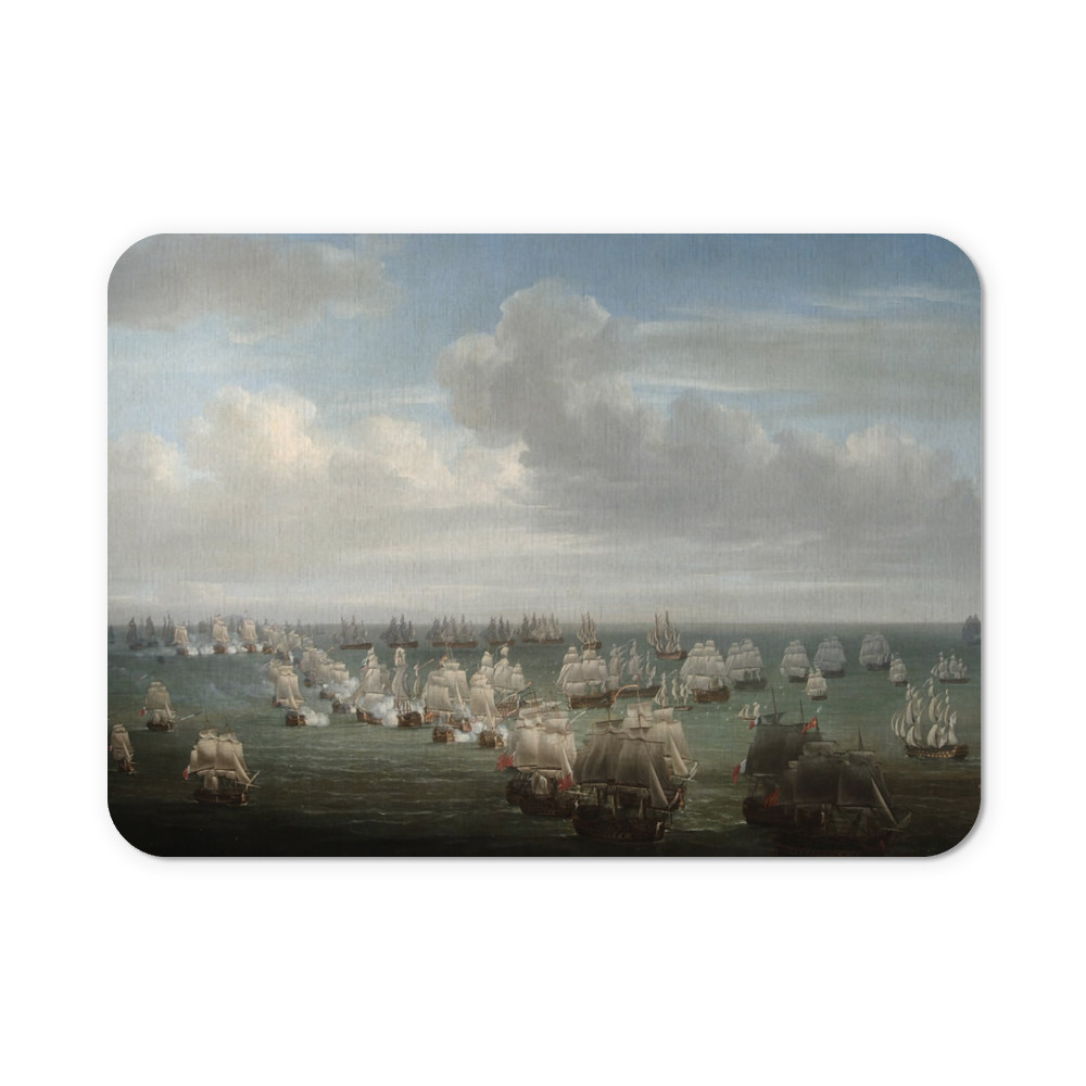 The Battle of Trafalgar Mousemat