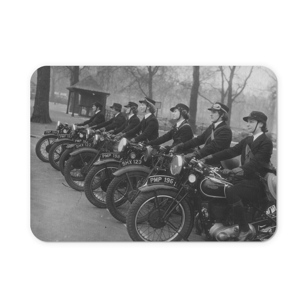 WRNS Despatch Riders Mousemat