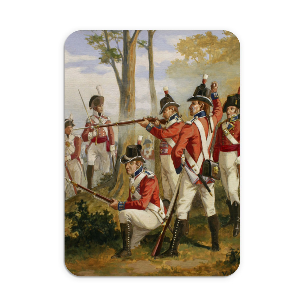 Royal Marines' uniforms 1790-1807 Mousemat