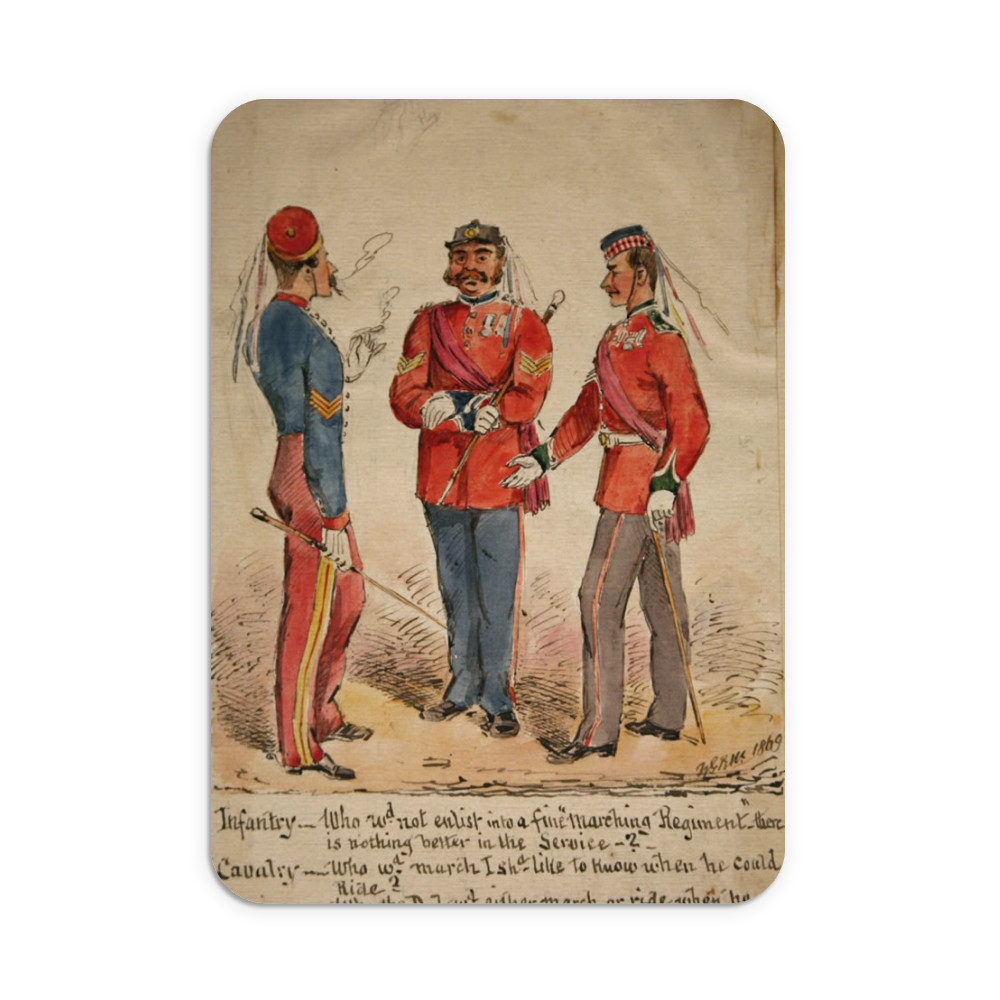 Infantry, Cavalry and Marines Discussion 1869 Mousemat