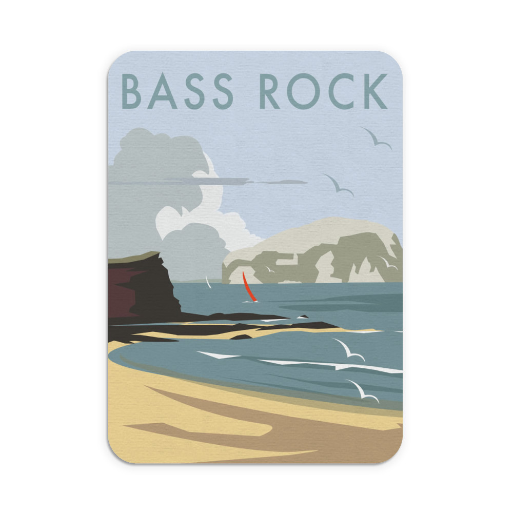 Bass Rock, North Berwick Mouse Mat