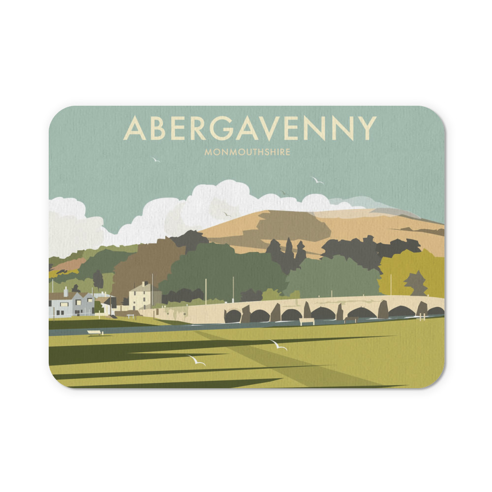 Abergavenny, South Wales Mouse Mat