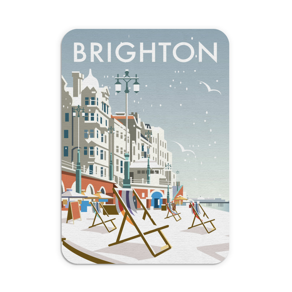 Brighton Winter Mouse Mat