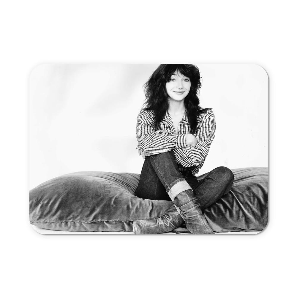 Kate Bush Singer Sitting On A Giant Cushion September 1983  Mousemat