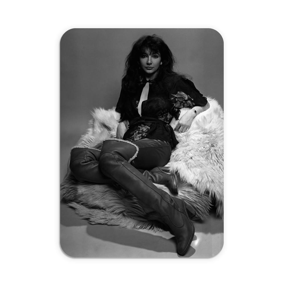 Singer Kate Bush in the studio March 1978 Mousemat
