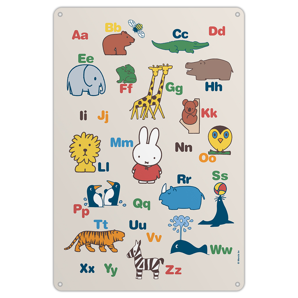 Miffy Alphabet