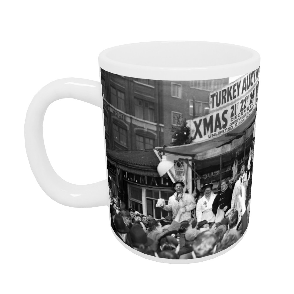 Charterhouse Street, London, 1953 Mug