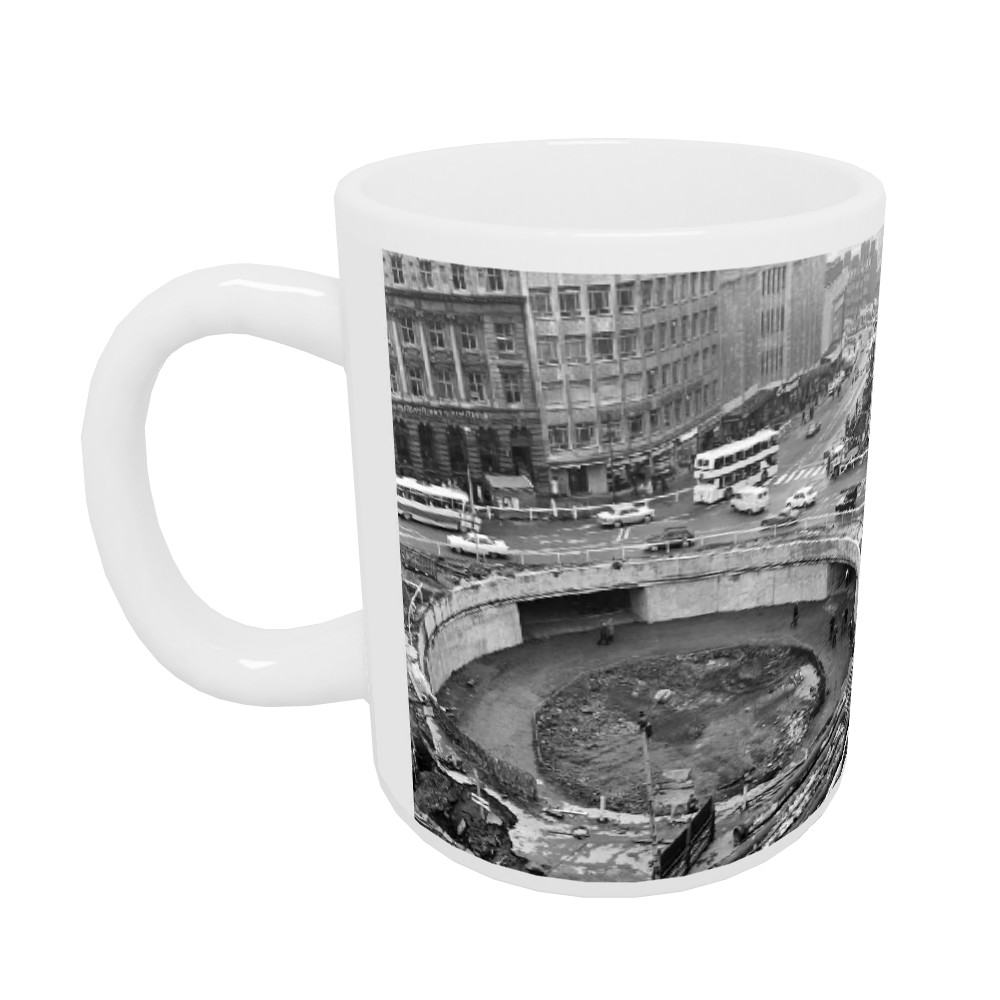 Sheffield Subway, 1967 Mug