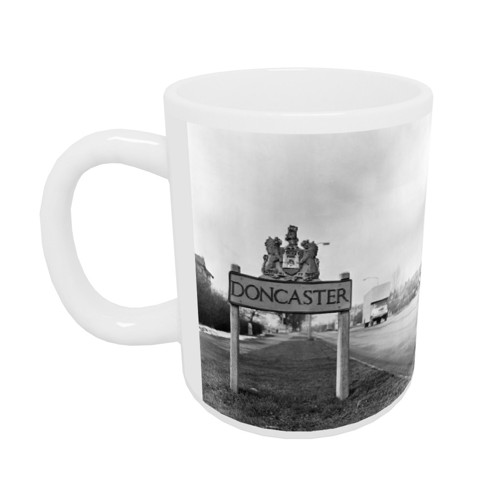 Doncaster, South Yorkshire, 1962. Mug