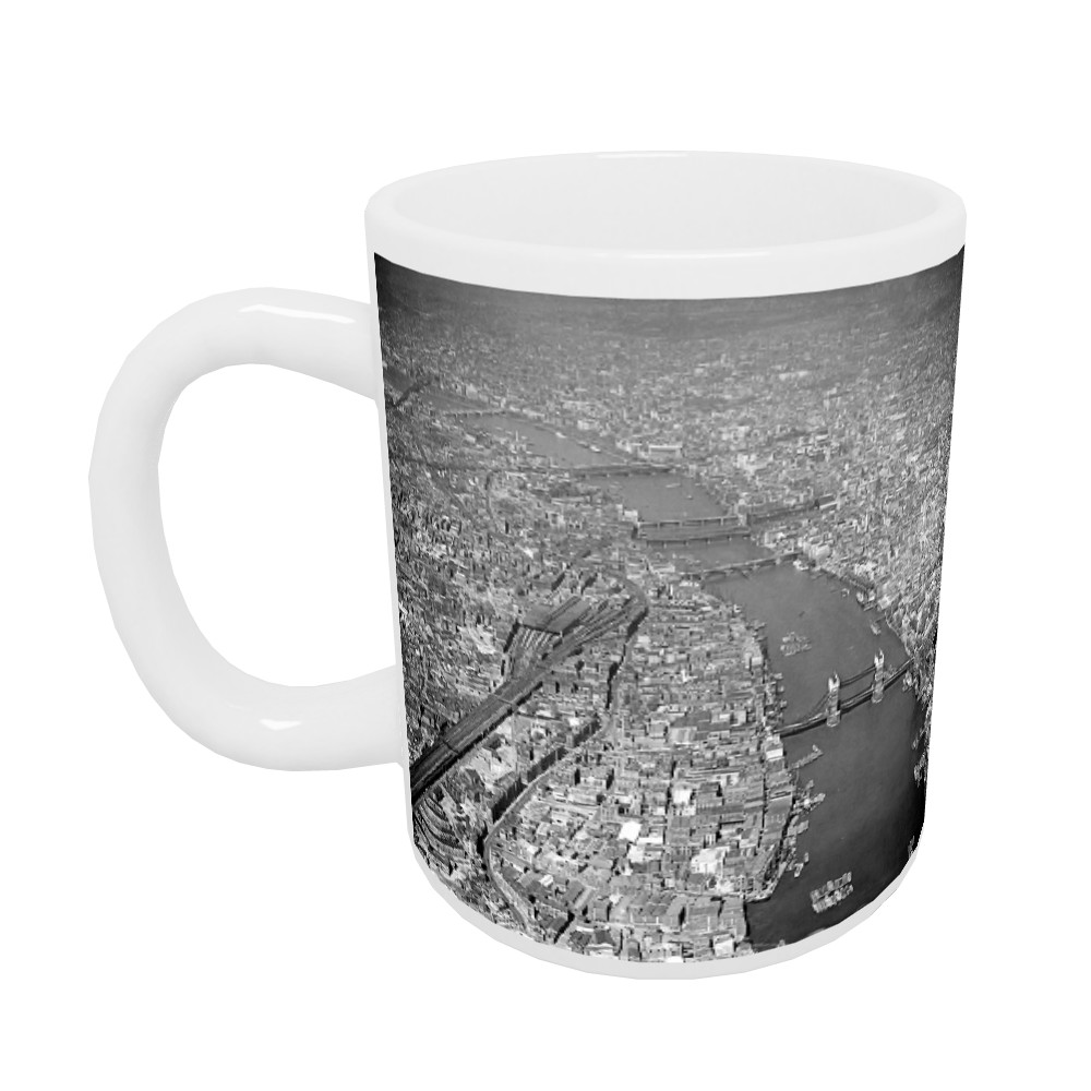 Aerial picture of London Mug