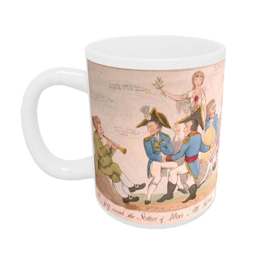 A Jig Round the Statue of Peace or All Parties Reconciled Mug
