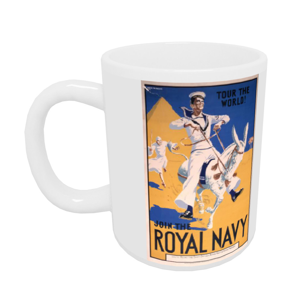 Join the Royal Navy - Tour the World Mug