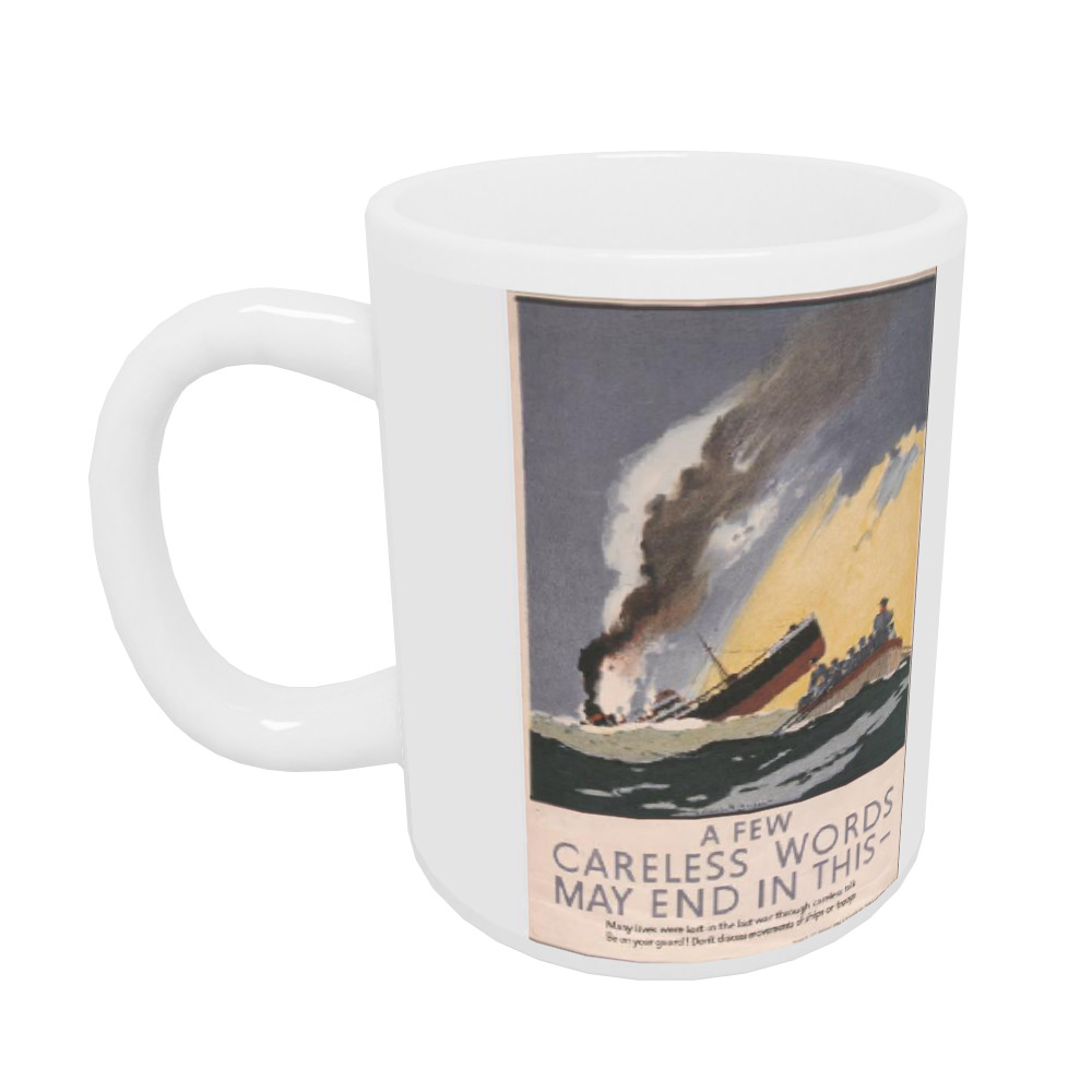 A Few Careless Words May End in This Mug