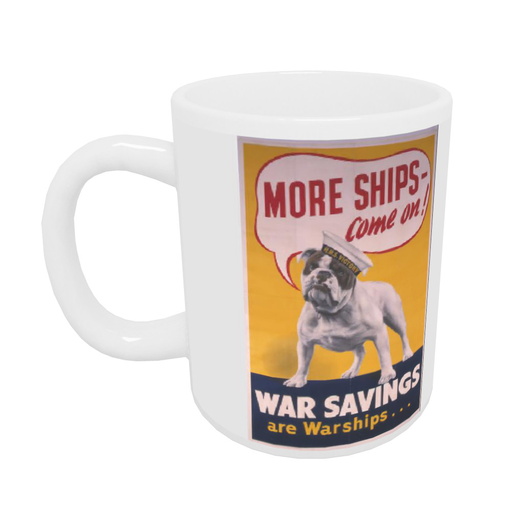 More Ships - Come On! Mug