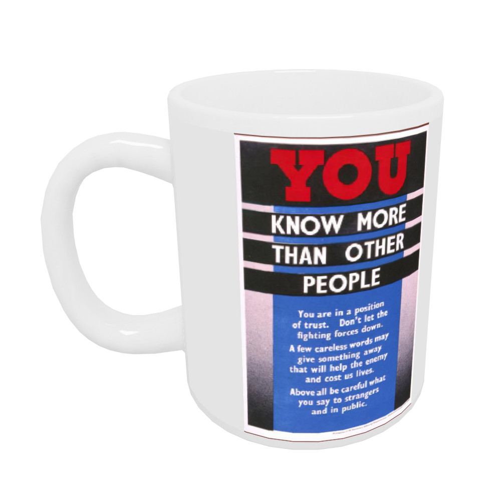 You Know More Than Other People Mug