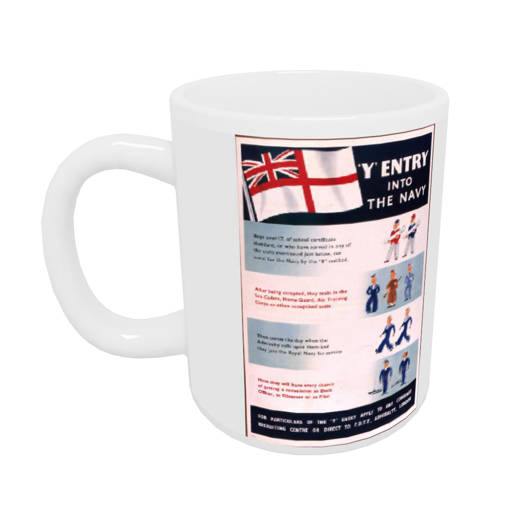 Y entry into the Navy Mug