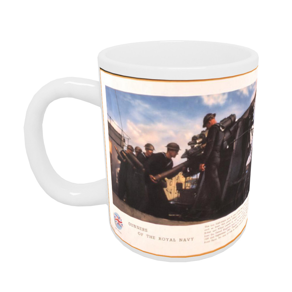 Gunners of the Royal Navy Mug