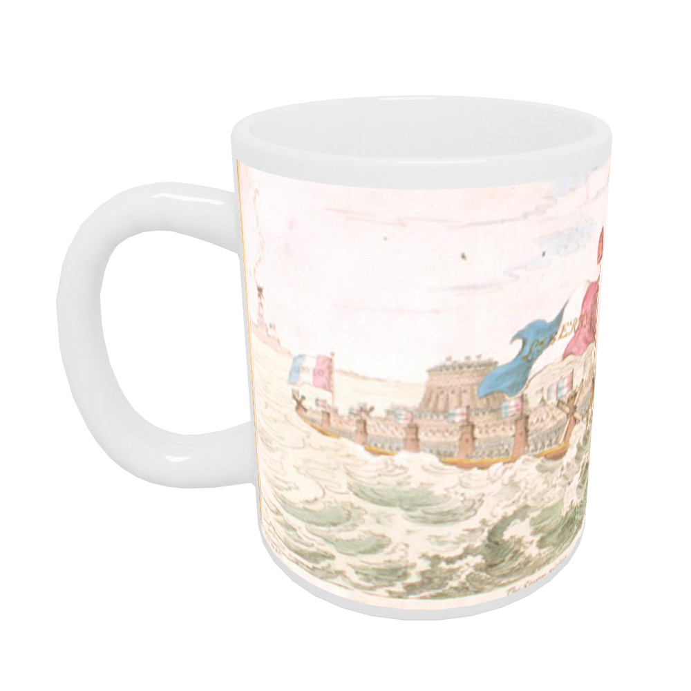 The Storm Rising or The Republican Flotilla in Danger Mug
