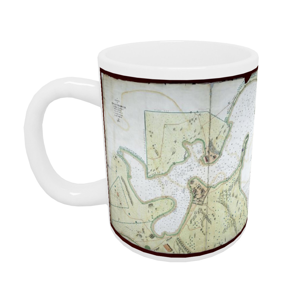 A Survey of English Harbour in the Island of Antigua made by Order of Commissioner Laforey in 1783 Mug