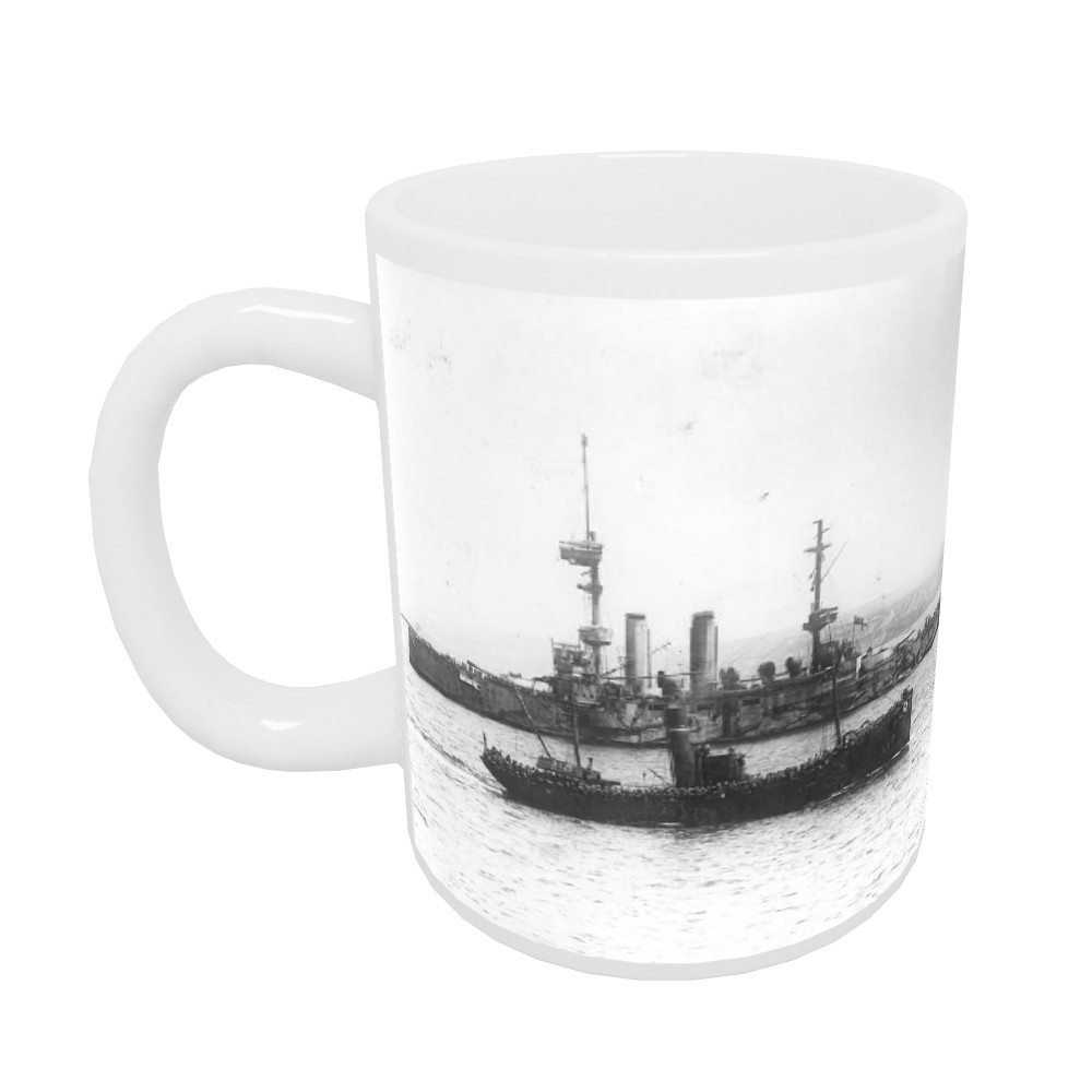 Trawler of troops at the Bombardment of Gallipoli Mug